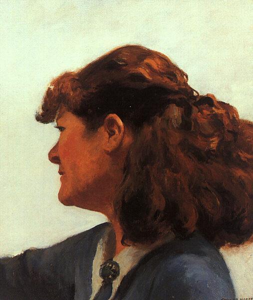 Jo Painting, 1936 - Edward Hopper