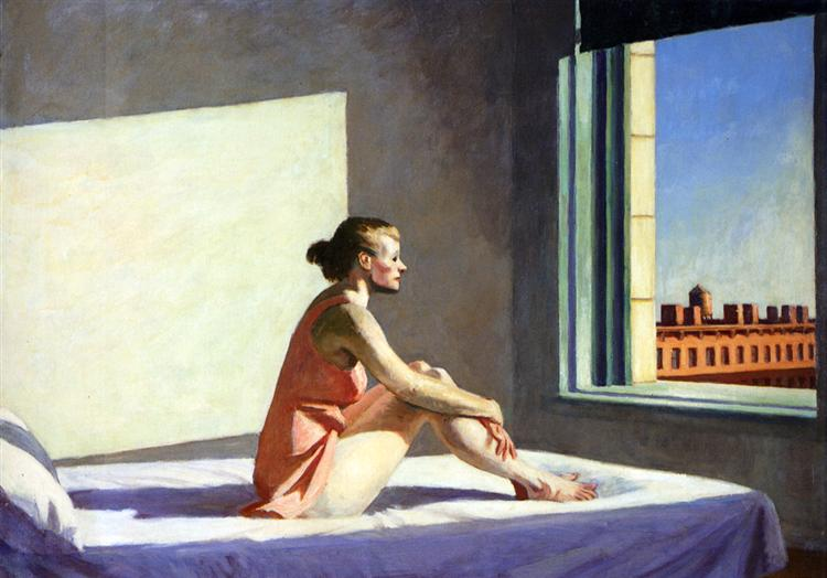 Morning Sun, 1952 - Edward Hopper
