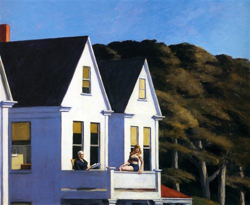 Second Story Sunlight - Edward Hopper