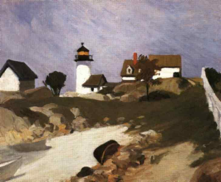 Squam Light, 1912 - Edward Hopper