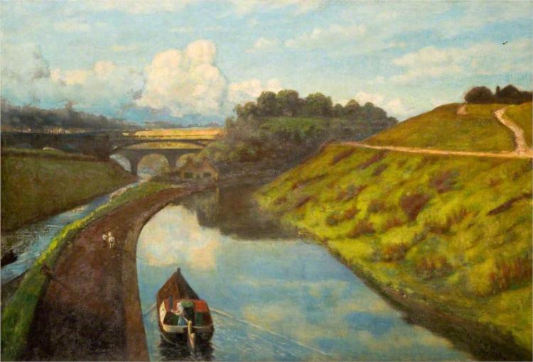 Galton Bridge, 1905 - Edward R. Taylor