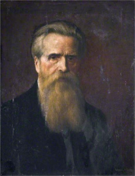 Self portrait, 1906 - Edward R. Taylor