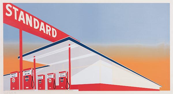 Standard Station, 1966 - Edward Ruscha
