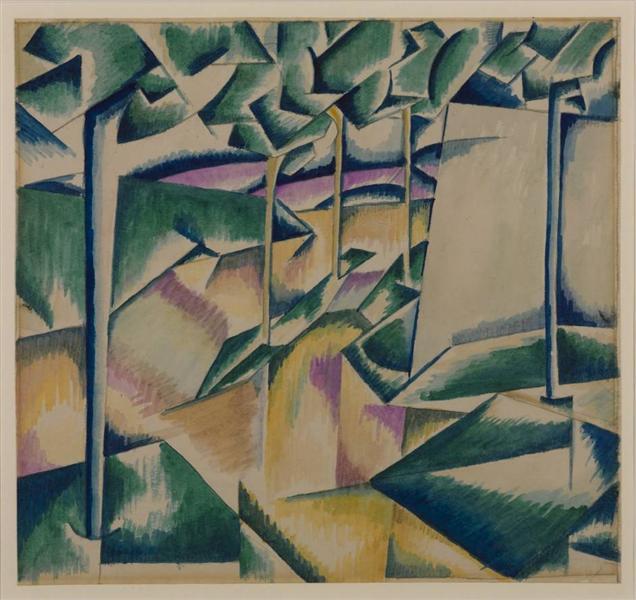 Landscape, 1913 - Edward Wadsworth