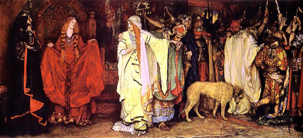 King Lear: Cordelia's Farewell, 1898