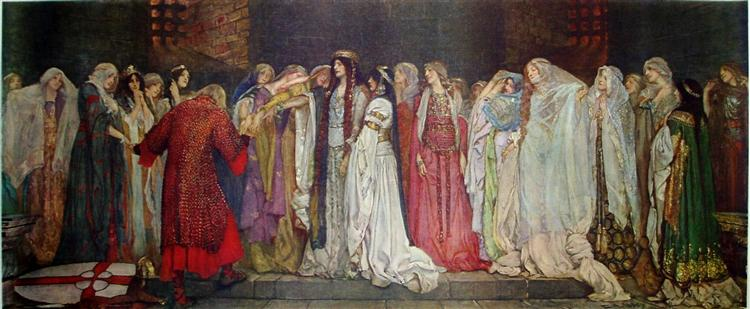women characters in king lear Analyse the presentation of women thus far in king lear when reading shakespeare's work, we can argue that what we are reading is.