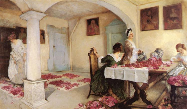 Pot-pourri, 1899 - Edwin Austin Abbey