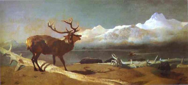 The Challenge - Edwin Henry Landseer