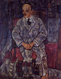 The Art Dealer Guido Arnot - Эгон Шиле