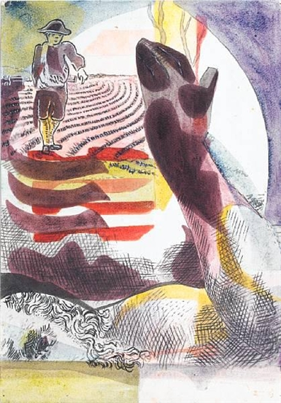 The Sower, 1937 - Eileen Agar
