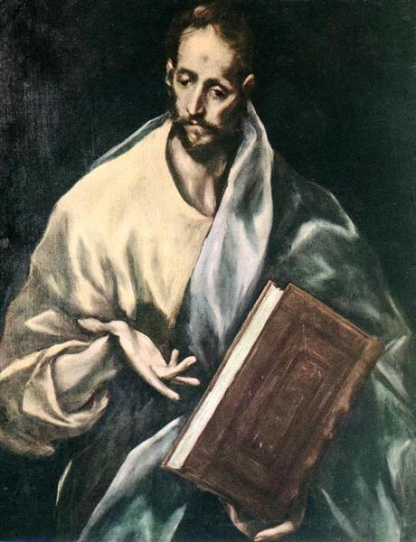 Apostle St. James the Less, c.1612 - El Greco
