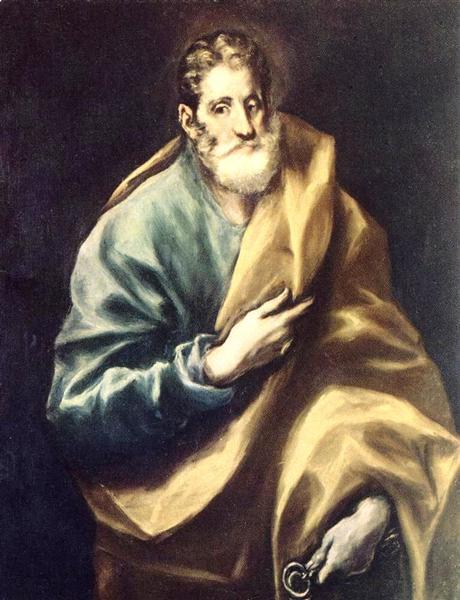 Apostle St. Peter, c.1612 - El Greco