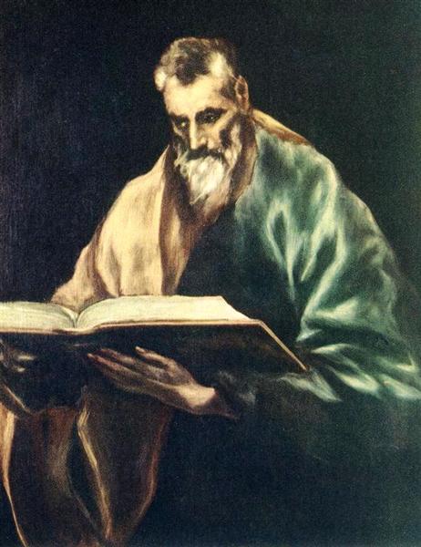Apostle St. Simon, c.1612 - El Greco