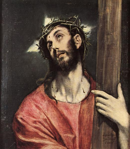 Christ carrying the cross, c.1595 - El Greco