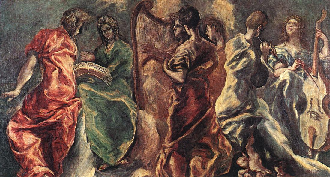 El greco concert of angels