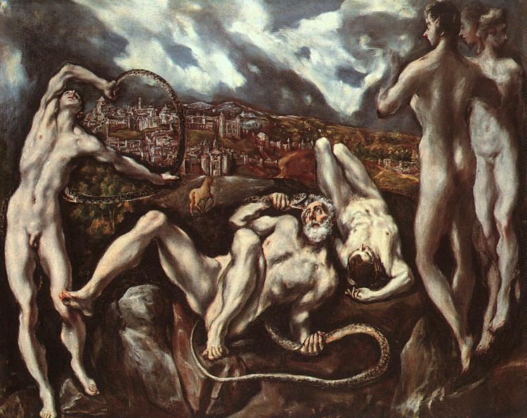 Лаокоон, c.1610 - Ель Греко
