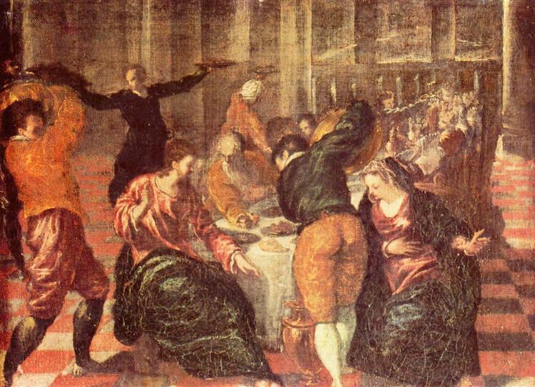 брак в кане галилейской C1600 эль греко Wikiartorg