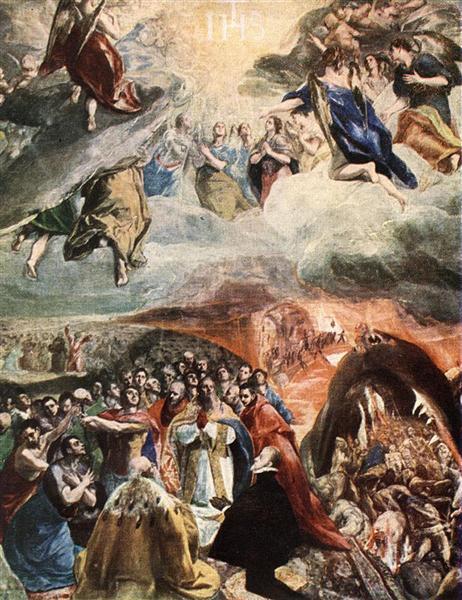 Anbetung des Namens Jesu, c.1580 - El Greco