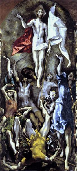 The Resurrection, c.1595 - El Greco