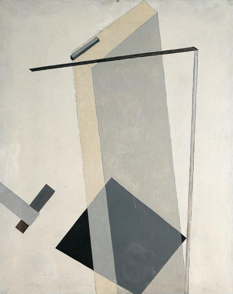 Proun 30 - El Lissitzky - WikiArt.org - encyclopedia of ...