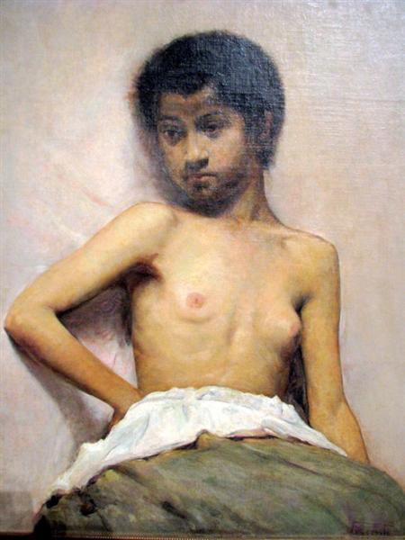Dorso de mulher - Eliseu Visconti