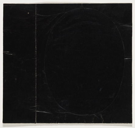 Black on Black, 1951 - Ellsworth Kelly