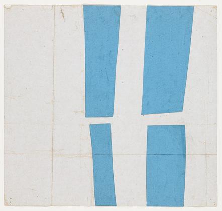 Blue and White, 1951 - Ellsworth Kelly