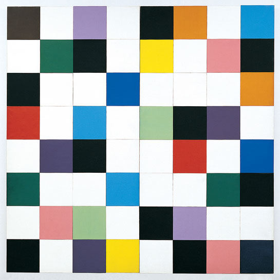 Colors for a Large Wall, 1951 - Эльсуорт Келли