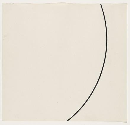 Curve, 1951 - Ellsworth Kelly