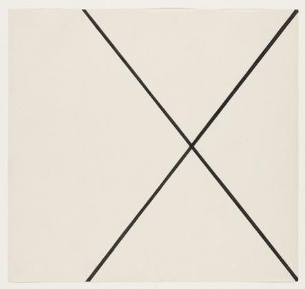 Diagonal Lines, 1951 - Ellsworth Kelly
