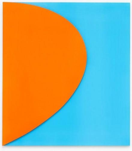 Orange Relief with Blue, 2011 - Ellsworth Kelly