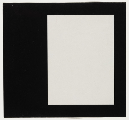 Rectangle from the series Line Form Color, 1951 - Ellsworth Kelly