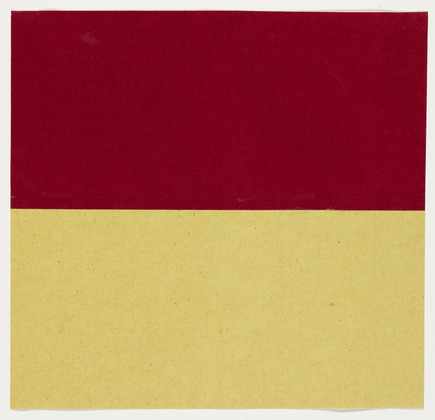 Red and Yellow, 1951 - Ellsworth Kelly