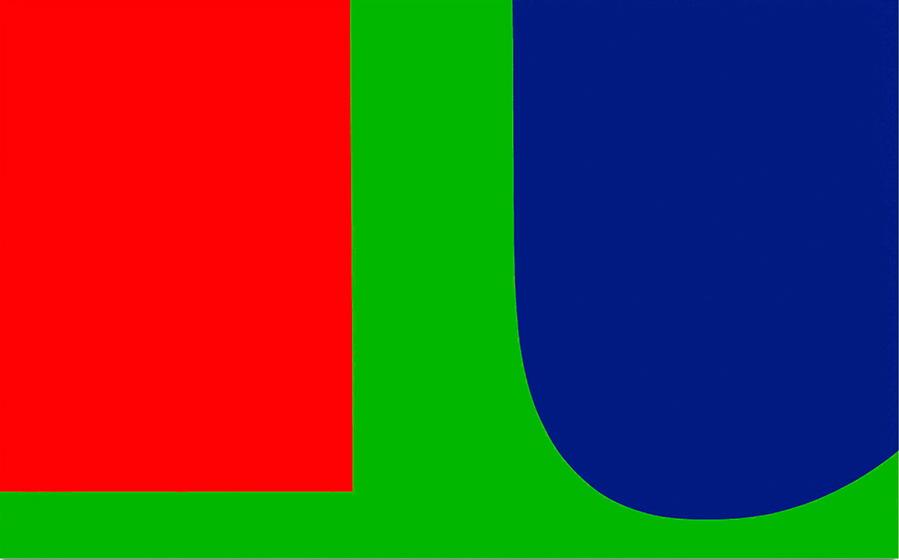 red blue green 1963 ellsworth kelly. Black Bedroom Furniture Sets. Home Design Ideas
