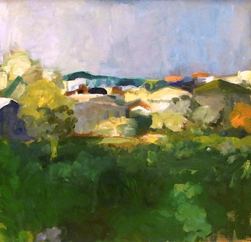 Group Of Houses 1961 Elmer Bischoff Wikiart Org