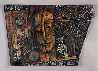 Portrait of Marcel Duchamp, 1919 - Ельза фон Фрейтаг-Лорінгофен