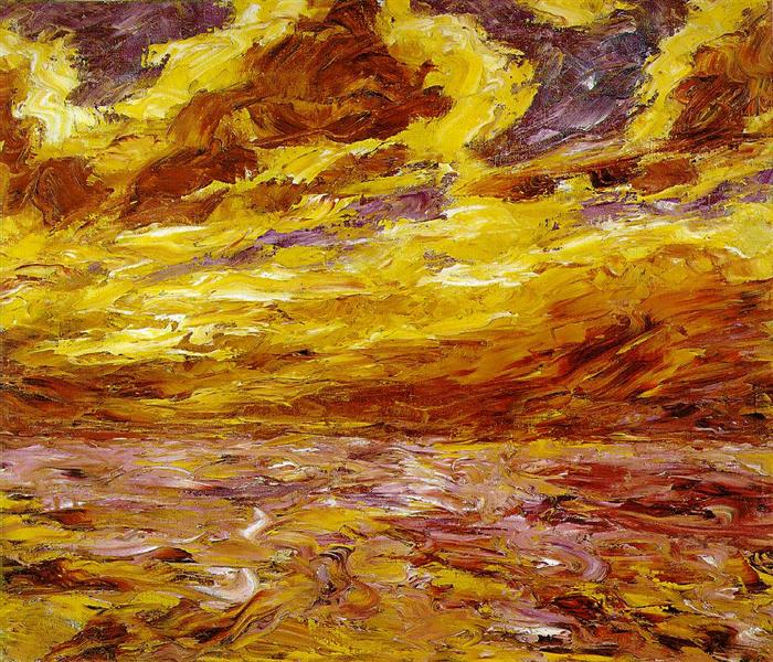 Autumn Sea VII - Emil Nolde