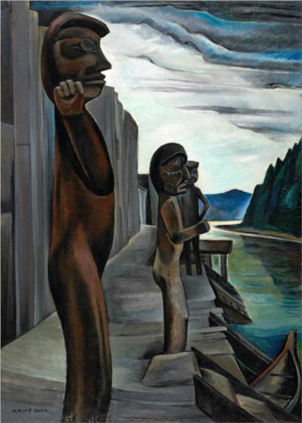 Blunden Harbour, 1930 - Emily Carr
