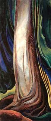 Tree Trunk, 1932 - Emily Carr