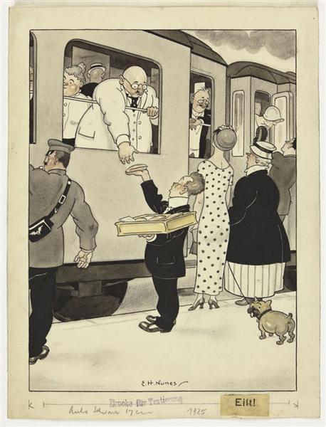 Untitled (published in Meggendorfer Blätter, N.º1646, 13-7-1922), 1922 - Еммеріко Нунез