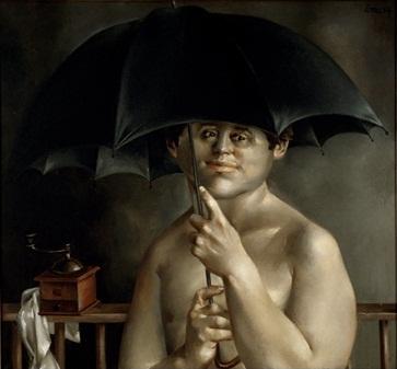 Boy With Umbrella, 1964 - Enrique Grau