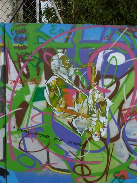 Ecoute la Rue (detail) - Epsylon Point