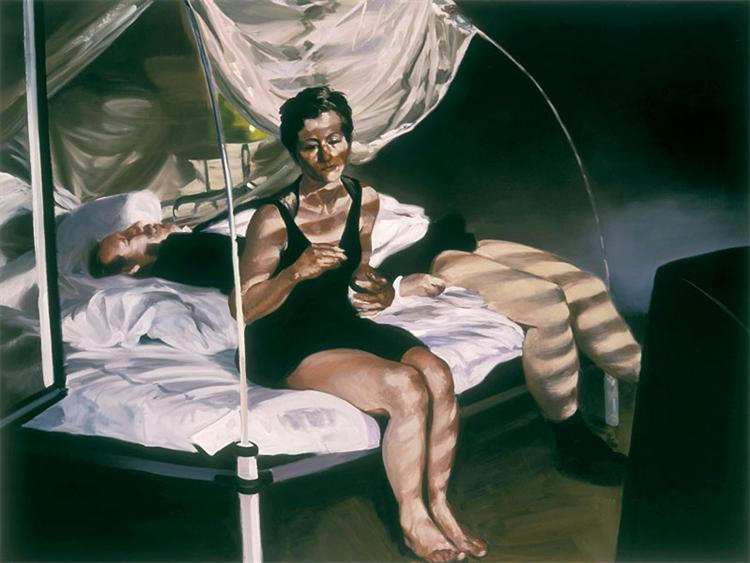 Krefeld Project Bedroom Scene 1, 2002 - Eric Fischl
