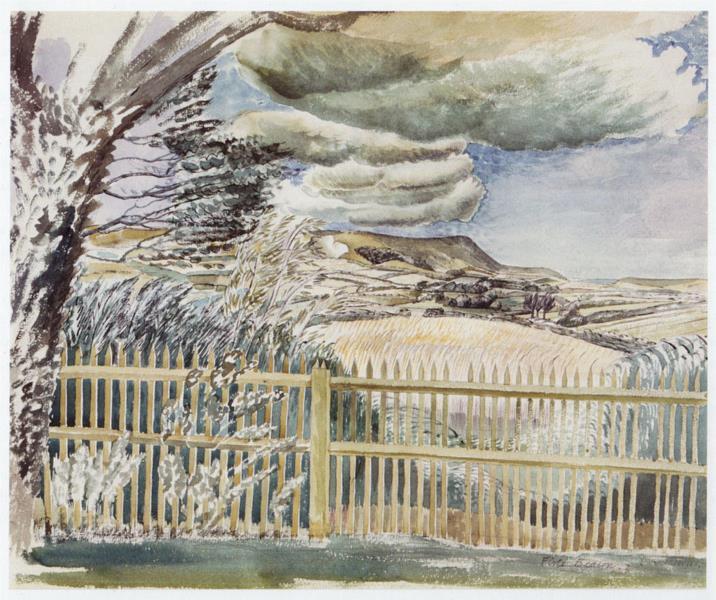 FIRLE BEACON, c.1927 - Eric Ravilious