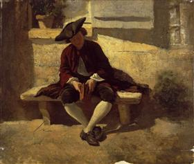 Young Man with a Book - Ernest Meissonier