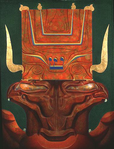 CHERUB OF THE SHIN, 1965 - Ernst Fuchs