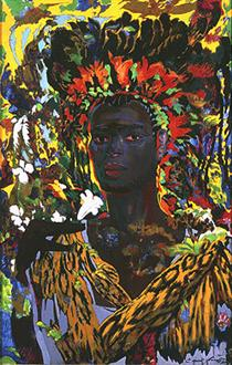 THE AFRICAN PRINCE - Ernst Fuchs