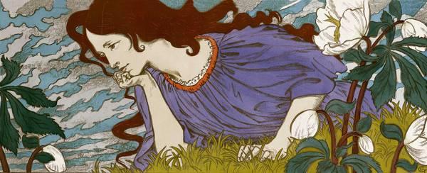 Anxiété, 1897 - Eugène Grasset