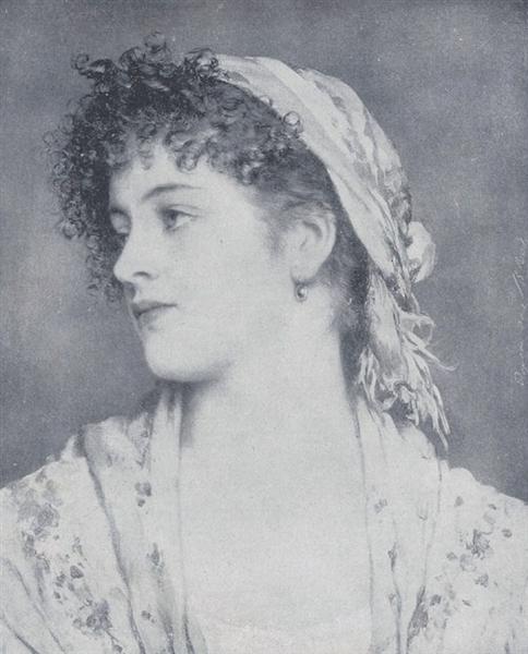 Portrait Angiolina, 1932 - Eugen de Blaas