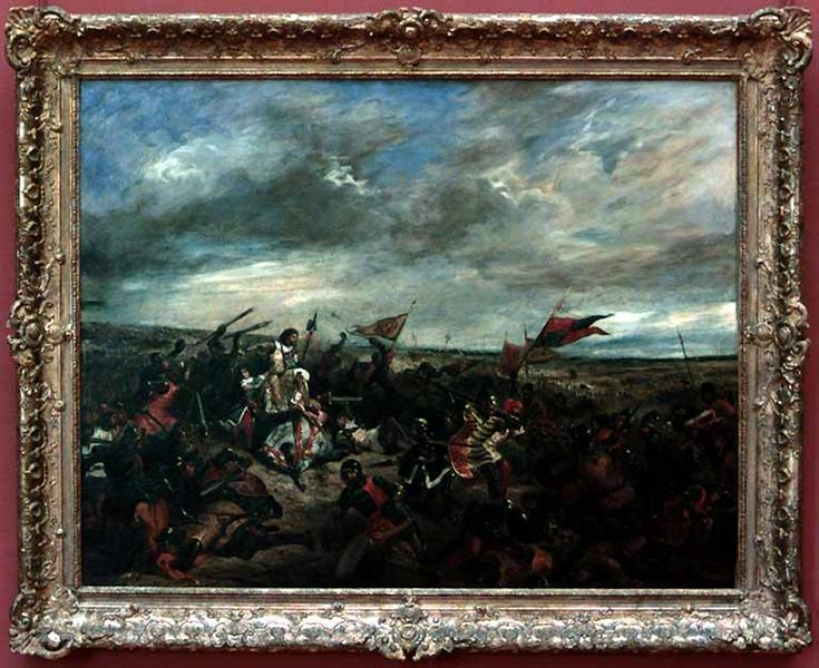 Battle of Poitiers, 1830 - Eugene Delacroix